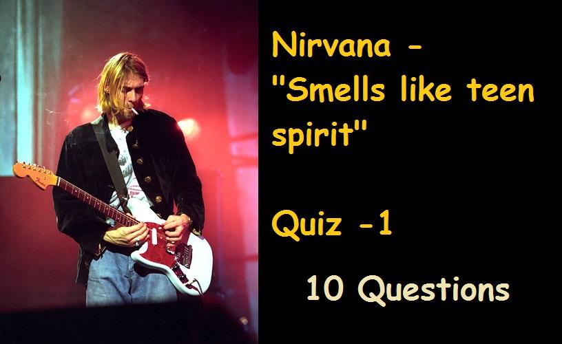 Spirit Nirvana Smells Like Teen 73