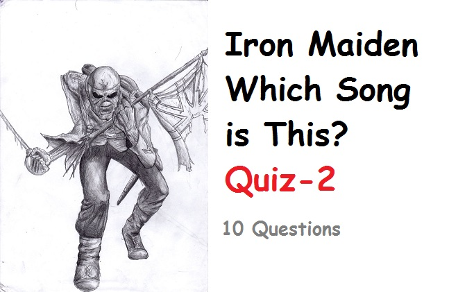 iron maiden quiz