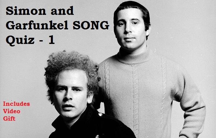 Simon and Garfunkel SONG Quiz - 1