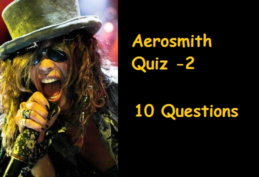 aerosmith quiz 2