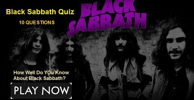 Black Sabbath Lord Of The Rings