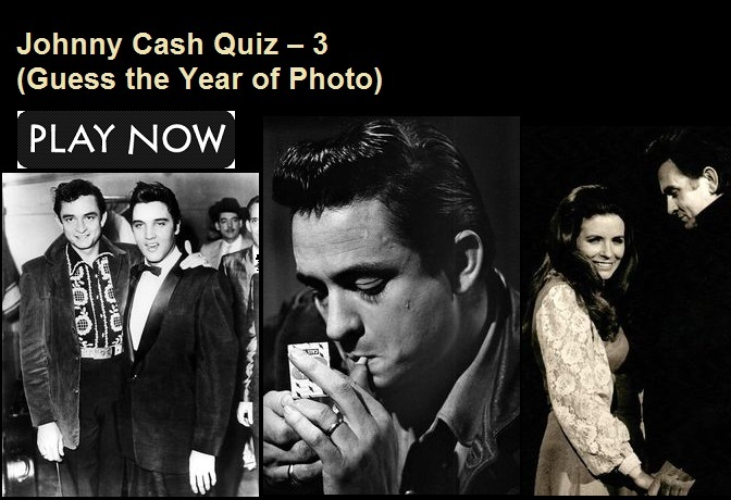 Johnny Cash Quiz – 3 (Guess the Year of Photo)