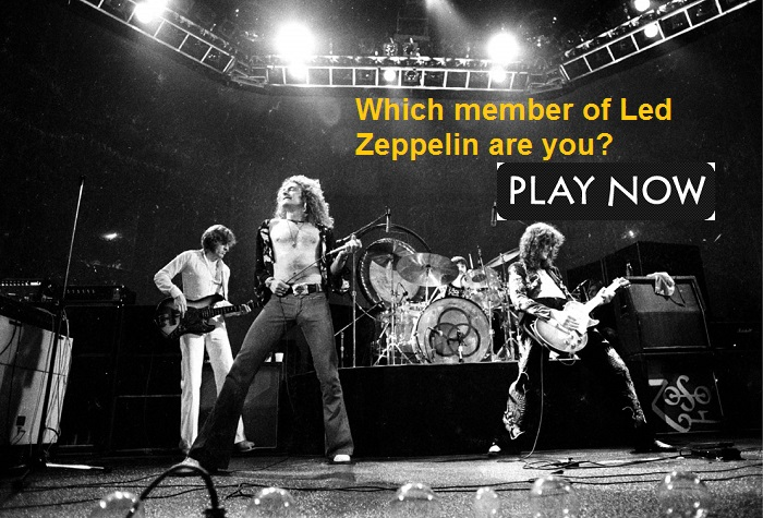 Which member of Led Zeppelin are you?