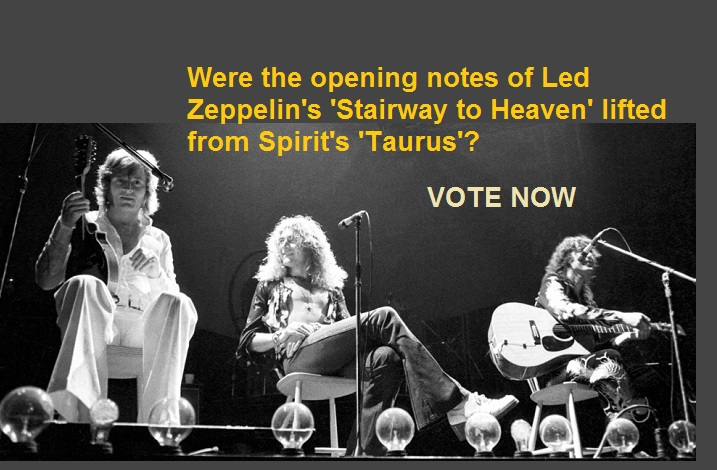 Led Zeppelin's 'Stairway to Heaven' vs. Spirit's 'Taurus'