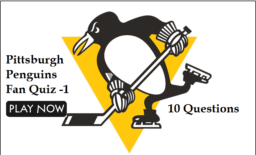 Pittsburgh Penguins Fan Quiz -1