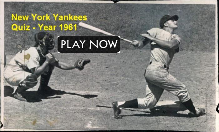 New York Yankees 1961