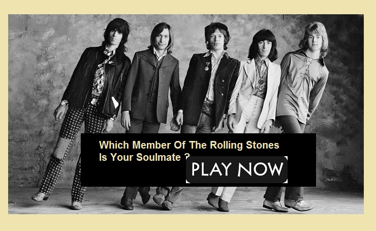 Which Member Of The Rolling Stones Is Your Soulmate