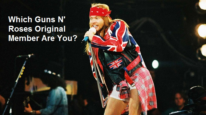 Which Guns N' Roses Original Member Are You