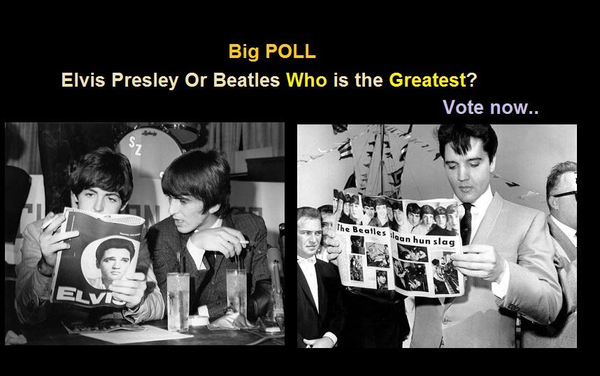 Elvis Presley Or Beatles Who is the Greatest