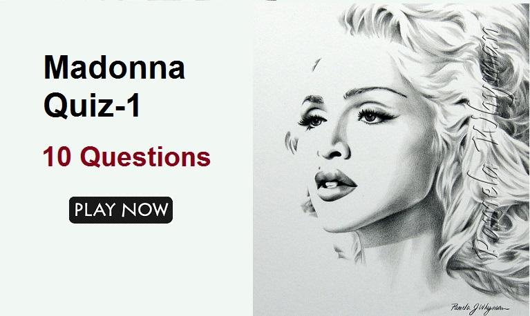 Madonna Quiz-1