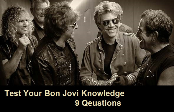 Test Your Bon Jovi Knowledge