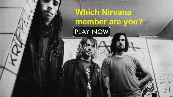 Which Nirvana member are you?