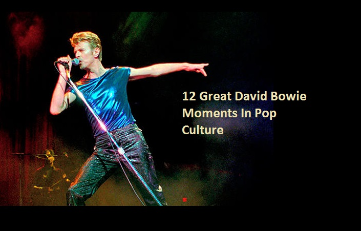 12 Great David Bowie Moments In Pop Culture
