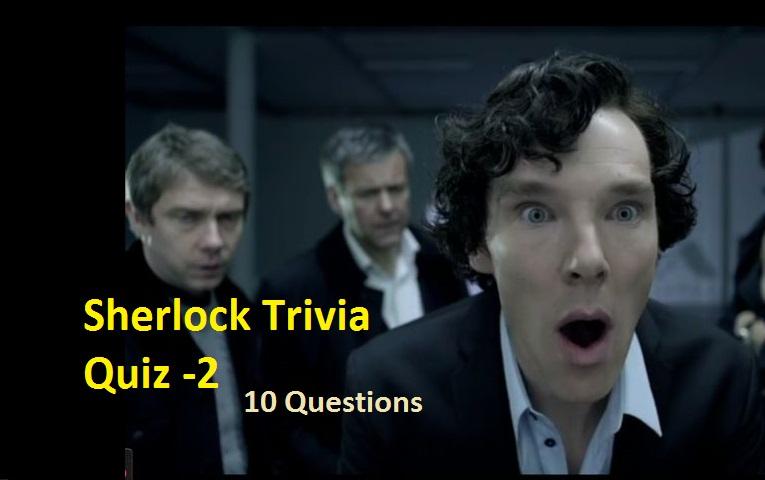 Sherlock Trivia Quiz -2