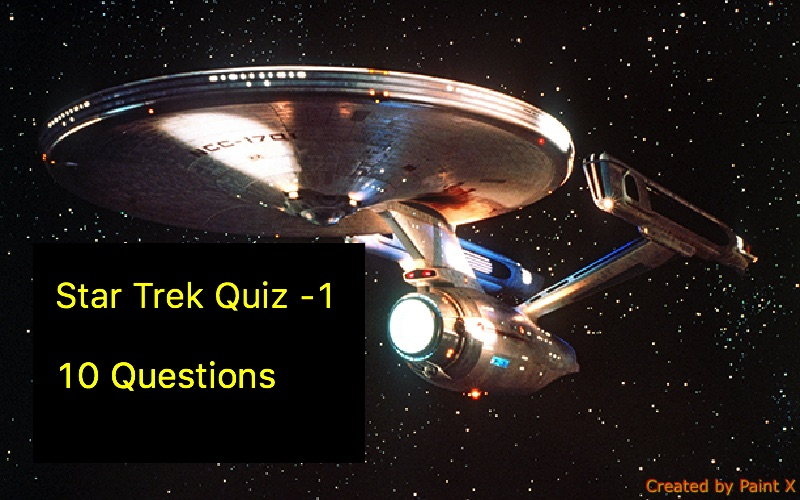 Star Trek Quiz -1