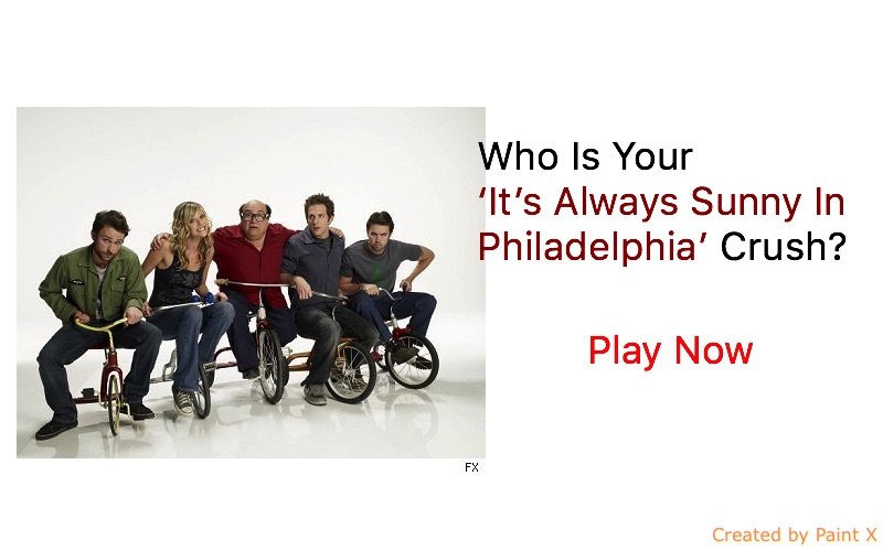 Who Is Your 'It's Always Sunny In Philadelphia' Crush?
