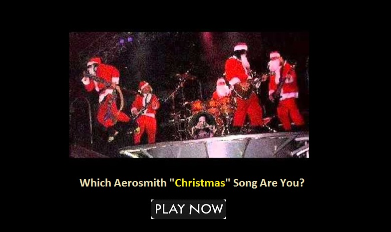 Which Aerosmith Christmas Song Are You