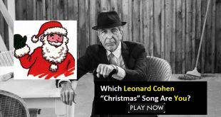 "Which Leonard Cohen ""Christmas"" Song Are You?"