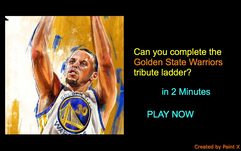Can you complete the Golden State Warriors tribute ladder?