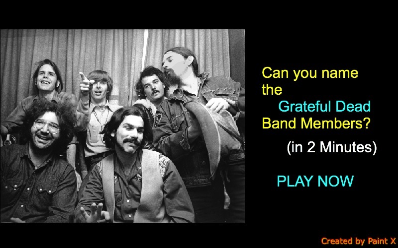 Can you name the Grateful Dead Band Members?
