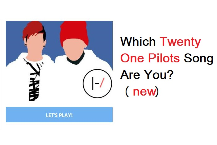 Which Twenty One Pilots Song Are You (Part-3)