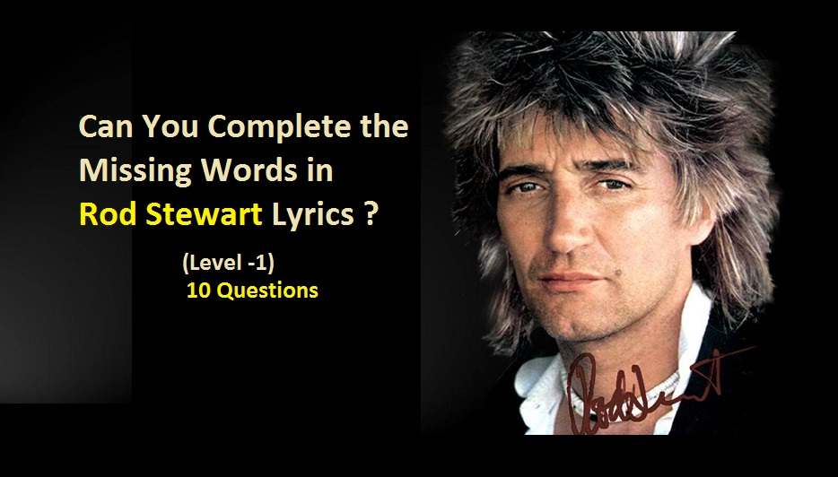 Lyric enemy the weeknd lyrics : Can You Complete the Missing Words in Rod Stewart Lyrics (Level -1 ...