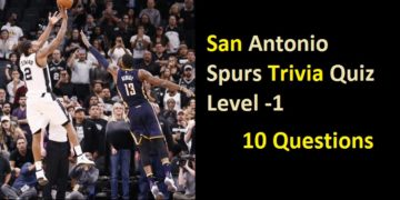 San Antonio Spurs Trivia Quiz - Level -1