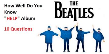 Quiz About The Beatles Album Help