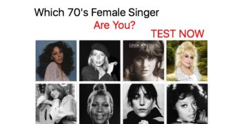 Which 70's Female Singer Are You?
