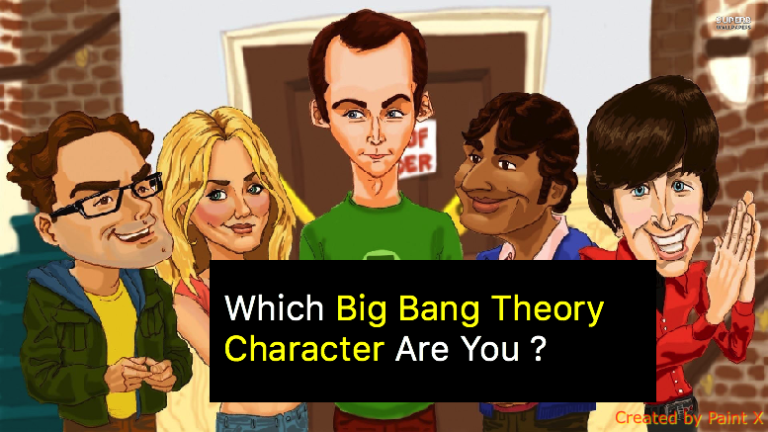 Which Big Bang Theory Character Are You ?