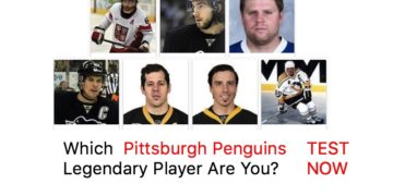 Which Pittsburgh Penguins Legendary Player Are You?