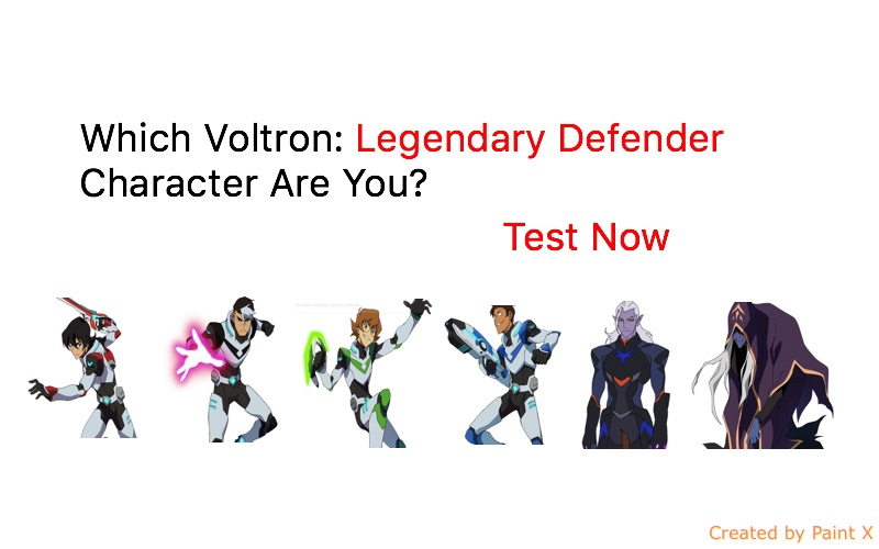 Voltron Legendary Defender In Coloring Pages: Which Voltron: Legendary Defender Character Are You? Quiz
