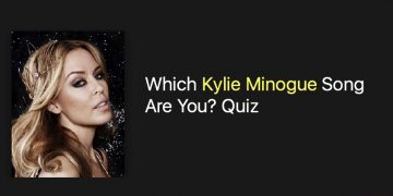 Which Kylie Minogue Song Are You? Quiz