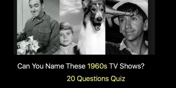 Can You Name These 1960s TV Shows?