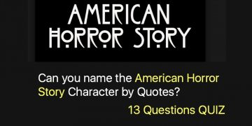 Can you name the American Horror Story Character by Quotes?