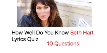 How Well Do You Know Beth Hart Lyrics Quiz