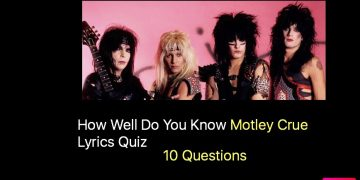 How Well Do You Know Motley Crue Lyrics Quiz