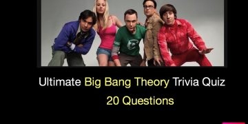 Ultimate Big Bang Theory Trivia Quiz