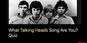 What Talking Heads Song Are You? Quiz