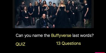 Can you name the Buffyverse last words?