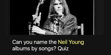 Can you name the Neil Young albums by songs? Quiz