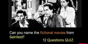 Can you name the fictional movies from Seinfeld?