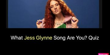 What Jess Glynne Song Are You? Quiz