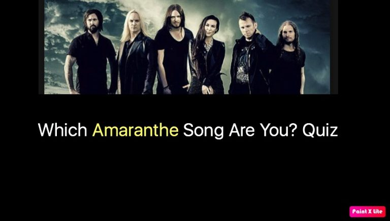 Which Amaranthe Song Are You? Quiz