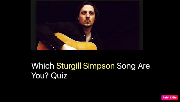 Which Sturgill Simpson Song Are You? Quiz