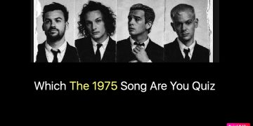 Which The 1975 Song Are You Quiz