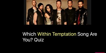 Which Within Temptation Song Are You? Quiz